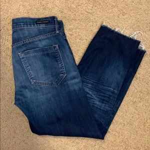 Citizens of Humanity sz 24 drop rise cropped jeans